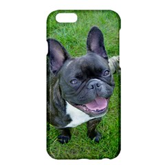 Sitting 2 French Bulldog Apple iPhone 6 Plus Hardshell Case