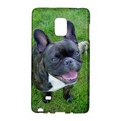 Sitting 2 French Bulldog Samsung Galaxy Note Edge Hardshell Case