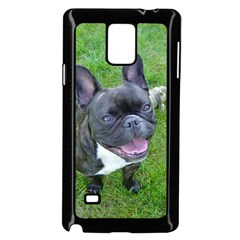 Sitting 2 French Bulldog Samsung Galaxy Note 4 Case (Black)