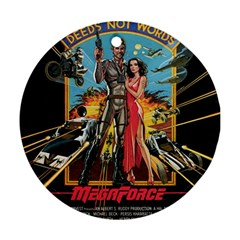 Megaforce F412359c Round Ornament (two Sides)