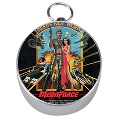 Megaforce F412359c Silver Compass