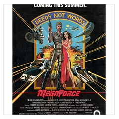 Megaforce F412359c Satin Scarf (Square)
