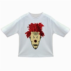 Evil Clown Hand Draw Illustration Baby T-shirt