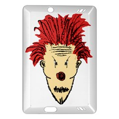 Evil Clown Hand Draw Illustration Kindle Fire HD (2013) Hardshell Case