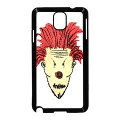 Evil Clown Hand Draw Illustration Samsung Galaxy Note 3 Neo Hardshell Case (Black)