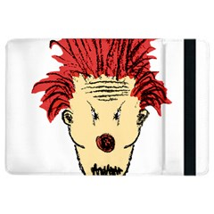 Evil Clown Hand Draw Illustration Apple iPad Air 2 Flip Case