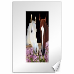Friends Forever Canvas 12  X 18  (unframed)