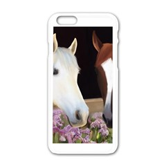 Friends Forever Apple iPhone 6 White Enamel Case