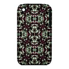 Geometric Grunge Apple Iphone 3g/3gs Hardshell Case (pc+silicone)