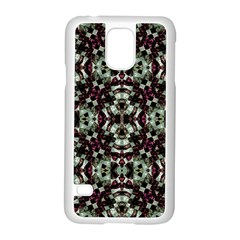 Geometric Grunge Samsung Galaxy S5 Case (White)