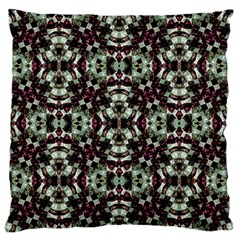 Geometric Grunge Standard Flano Cushion Case (two Sides)