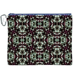 Geometric Grunge Canvas Cosmetic Bag (xxxl)