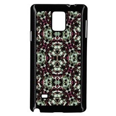 Geometric Grunge Samsung Galaxy Note 4 Case (Black)