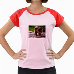 Chow Chow Full Women s Cap Sleeve T-Shirt (Colored)