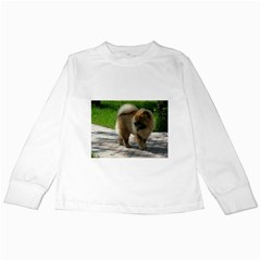 Chow Chow Full Kids Long Sleeve T-Shirt