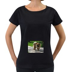 Chow Chow Full Women s Loose-Fit T-Shirt (Black)