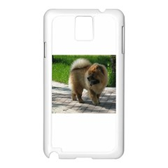 Chow Chow Full Samsung Galaxy Note 3 N9005 Case (White)