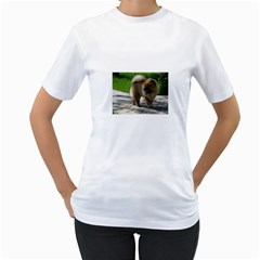 Chow Chow Full Women s T-Shirt (White)