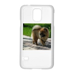 Chow Chow Full Samsung Galaxy S5 Case (White)