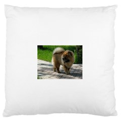 Chow Chow Full Large Flano Cushion Case (Two Sides)