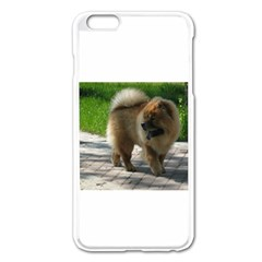 Chow Chow Full Apple iPhone 6 Plus Enamel White Case