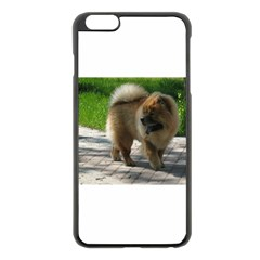 Chow Chow Full Apple iPhone 6 Plus Black Enamel Case