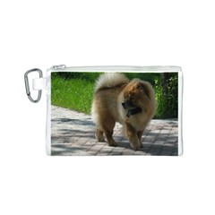Chow Chow Full Canvas Cosmetic Bag (Small)