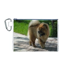 Chow Chow Full Canvas Cosmetic Bag (medium)
