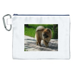 Chow Chow Full Canvas Cosmetic Bag (XXL)