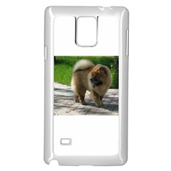 Chow Chow Full Samsung Galaxy Note 4 Case (White)