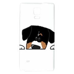 Peeping Entlebucher Samsung Note 4 Hardshell Back Case