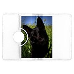 Black German Shepherd Kindle Fire HDX Flip 360 Case