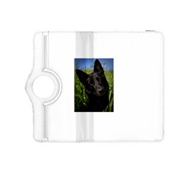 Black German Shepherd Kindle Fire HDX 8.9  Flip 360 Case