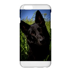 Black German Shepherd Apple iPhone 6 Plus Hardshell Case