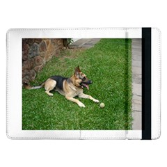 3 German Shepherd Laying Samsung Galaxy Tab Pro 12.2  Flip Case
