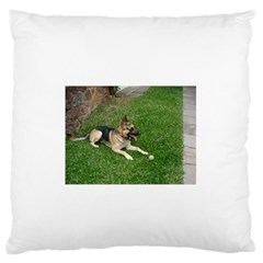 3 German Shepherd Laying Standard Flano Cushion Case (Two Sides)