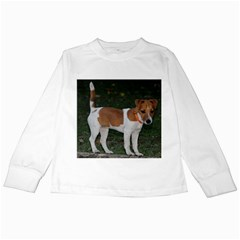 Jack Russell Terrier Full Kids Long Sleeve T-Shirt