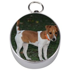 Jack Russell Terrier Full Silver Compass