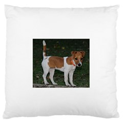 Jack Russell Terrier Full Standard Flano Cushion Case (one Side)