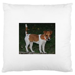 Jack Russell Terrier Full Large Flano Cushion Case (Two Sides)