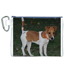 Jack Russell Terrier Full Canvas Cosmetic Bag (XL)