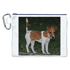 Jack Russell Terrier Full Canvas Cosmetic Bag (XXL)