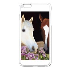 Friends Forever Apple iPhone 6 Plus Enamel White Case