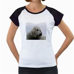 Kuvasz Women s Cap Sleeve T-Shirt (White)