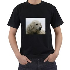 Kuvasz Men s Two Sided T Shirt (black)