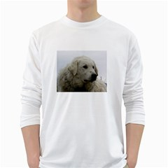Kuvasz Men s Long Sleeve T-shirt (White)