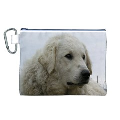 Kuvasz Canvas Cosmetic Bag (Large)