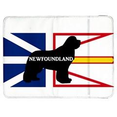 Newfoundland Name Silo On Flag Samsung Galaxy Tab 7  P1000 Flip Case