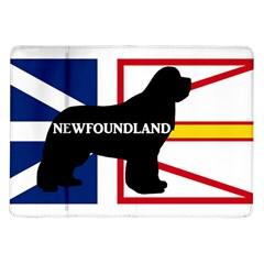 Newfoundland Name Silo On Flag Samsung Galaxy Tab 10.1  P7500 Flip Case