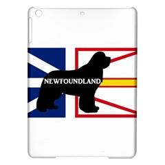 Newfoundland Name Silo On Flag Apple iPad Air Hardshell Case
